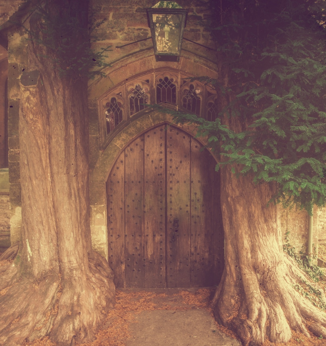 Hobbits Door, St Edwards Church